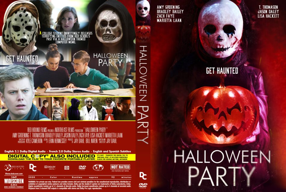 Dc Halloween Party 2020 Halloween Party (2020) R1 Custom DVD Cover   DVDcover.Com