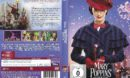 Mary Poppins Rückkehr (2018) R2 DE DVD Cover & Label