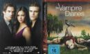 Vampire Diaries (Staffel 1 2009) R2 DE DVD Cover & Labels