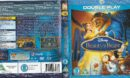 Beauty and the Beast R2 Blu-Ray Cover & Label