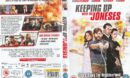 Keeping Up With The Joneses (2016) R2 DVD Cover & Label