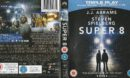 Super 8 (2011) R2 Blu-Ray Cover