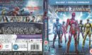 Power Rangers (2017) R2 Blu-Ray Cover & Label