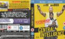 Central Intelligence (2016) R2 Blu-Ray Cover & Label