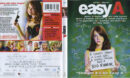 Easy A (2010) Blu-Ray Cover & Label