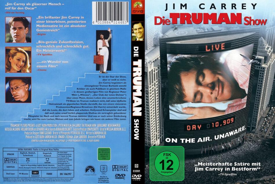 Die Truman Show (1998) R2 DE DVD Covers - DVDcover.Com