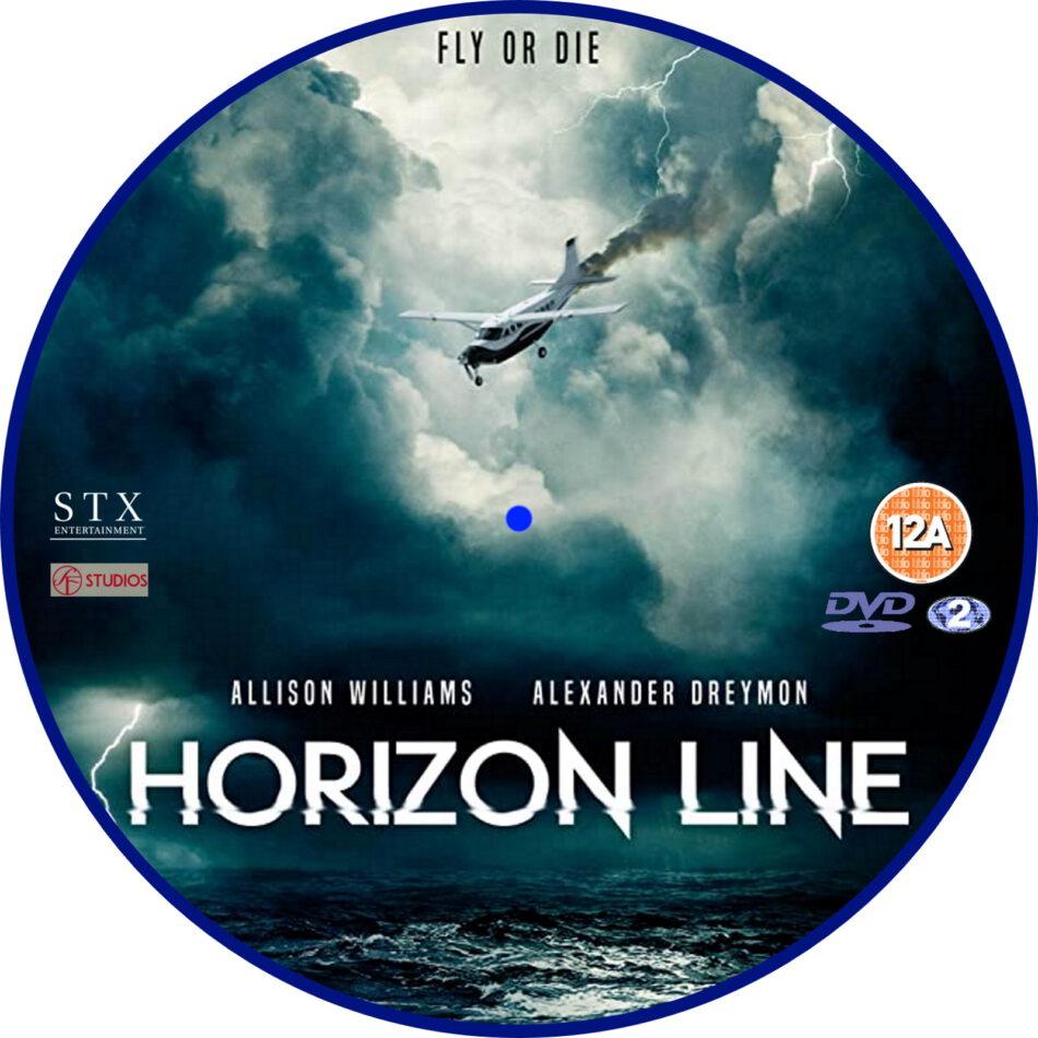Horizon Line (2020) R2 Custom DVD Label - DVDcover.Com