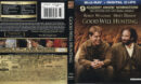 Good Will Hunting (1997) Blu-Ray Cover & Labels