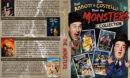 Abbott and Costello Meet the Monsters R1 Custom DVD Cover