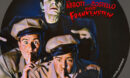 Abbott and Costello Meet Frankenstein R1 Custom DVD Label