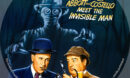 Abbott and Costello Meet The Invisible Man R1 Custom DVD Label
