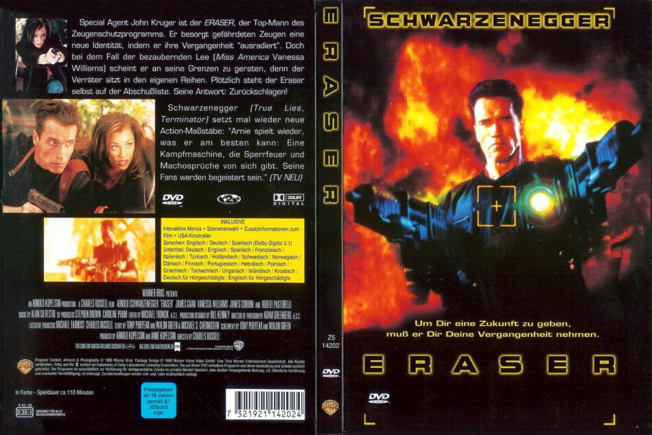 Eraser 1996 R2 De Dvd Covers Dvdcover Com