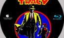 DICK TRACY (1990) CUSTOM BLURAY LABEL