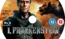 I, Frankenstein (2014) Custom R0 and R2 Blu Ray Labels