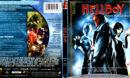 HELLBOY DIRECTOR'S CUT (2004) BLU-RAY COVER & LABEL