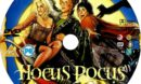 Hocus Pocus (1993) Custom R0 and R2 DVD Labels