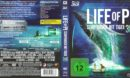 Life of Pi  3D (2013) DE Blu-Ray Cover