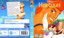 HERCULES (1997) BLU-RAY COVER & LABEL