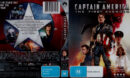 Captain America: The First Avenger (2011) R4 Blu-Ray Cover