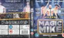 Magic Mike (2012) R2 Blu Ray Cover and Label