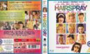 Hairspray (2007) R2 Blu-Ray Cover and Label