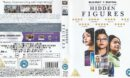 Hidden Figures (2016) R2 Blu Ray Cover and Label