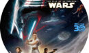STAR WARS THE RISE OF SKYWALKER 3D (2019) BLU-RAY LABEL