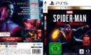 Spider-Man - Miles Morales UE DE PS5 Cover & Label
