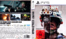 Call of Duty Black Ops - Cold War DE PS5 Cover & Label