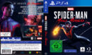 Spider-Man Miles Morales DE PS4 Cover & Label