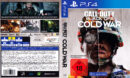 Call of Duty Black Ops - Cold War DE PS4 Cover & Label