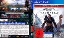 Assassins Creed - Valhalla (Limited Edition) DE PS4 Cover & Label