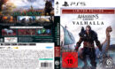 Assassins Creed - Valhalla (Limited EDition) DE PS5 Cover & Label