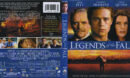Legends Of The Fall (1994) Blu-Ray Cover & Label