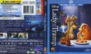 Lady and the Tramp Blu-Ray Cover & Labels