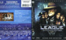 The League Of Extraordinary Gentlemen (2003) Blu-Ray Cover & Label