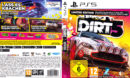 Dirt 5 (Limited Edition) DE PS5 Cover & Label