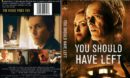 You Should Have Left (2020) R0 DVD Cover and Label