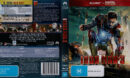Iron Man 3 (2013) R4 Blu-Ray Cover