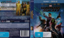 Guardians of the Galaxy (2014) R4 Blu-Ray Cover