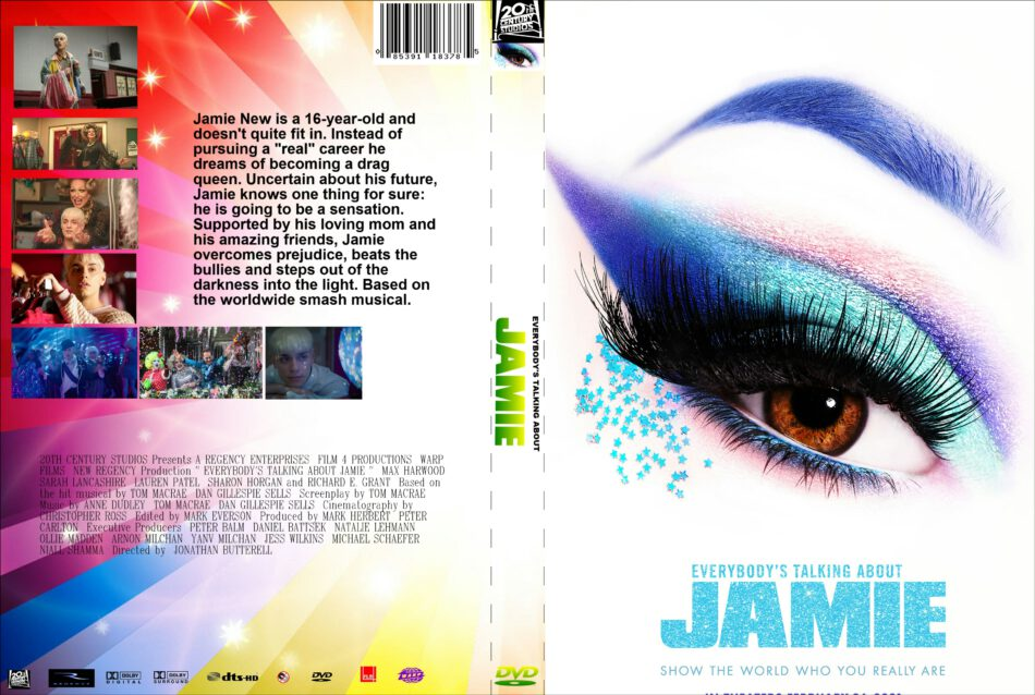 Everybody's Talking About Jamie (2021) Custom R0 DVD Cover ...