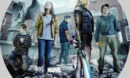 The New Mutants (2020) R1 Custom Blu-Ray label