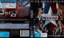 Captain America: Civil War (2016) R4 Blu-ray Cover