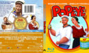 POPEYE (1980) BLU-RAY COVER & LABEL