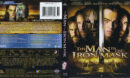The Man In The Iron Mask (1998) Blu-Ray Cover & label