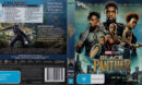Black Panther (2018) R4 Blu-Ray Cover