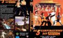Die 5 Kampfmaschinen der Shaolin R2 DE DVD Cover
