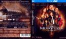 Die Drei Musketiere 3D (2011) DE Blu-Ray Cover