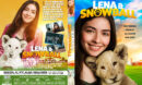 lena & snowball (2021) R1 Custom DVD Cover