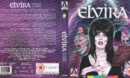Elvira Mistress of the Dark (1988/2018) R2 UK Blu ray Covers and Label